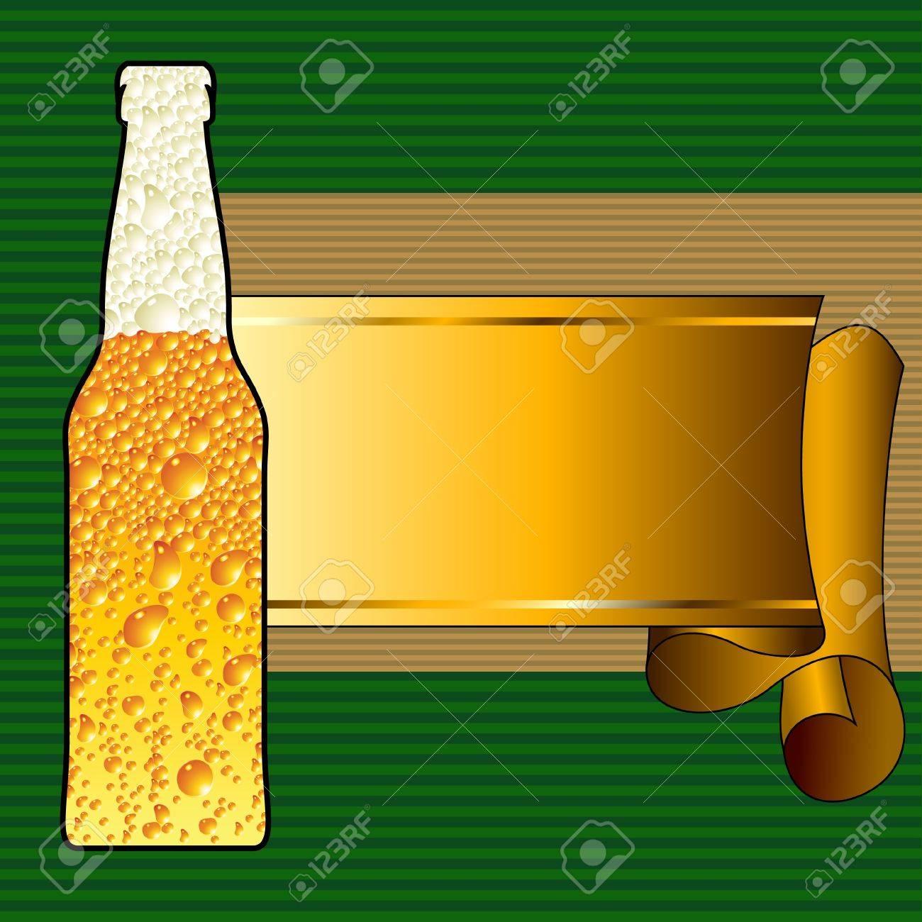 beer background Stock Vector - 10408021