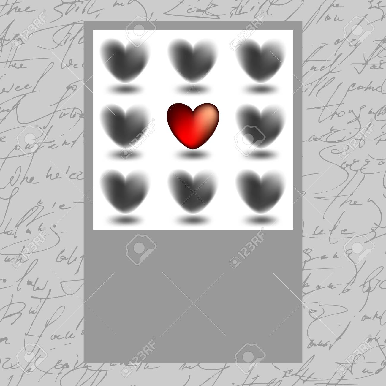 hearts collection Stock Vector - 12065548