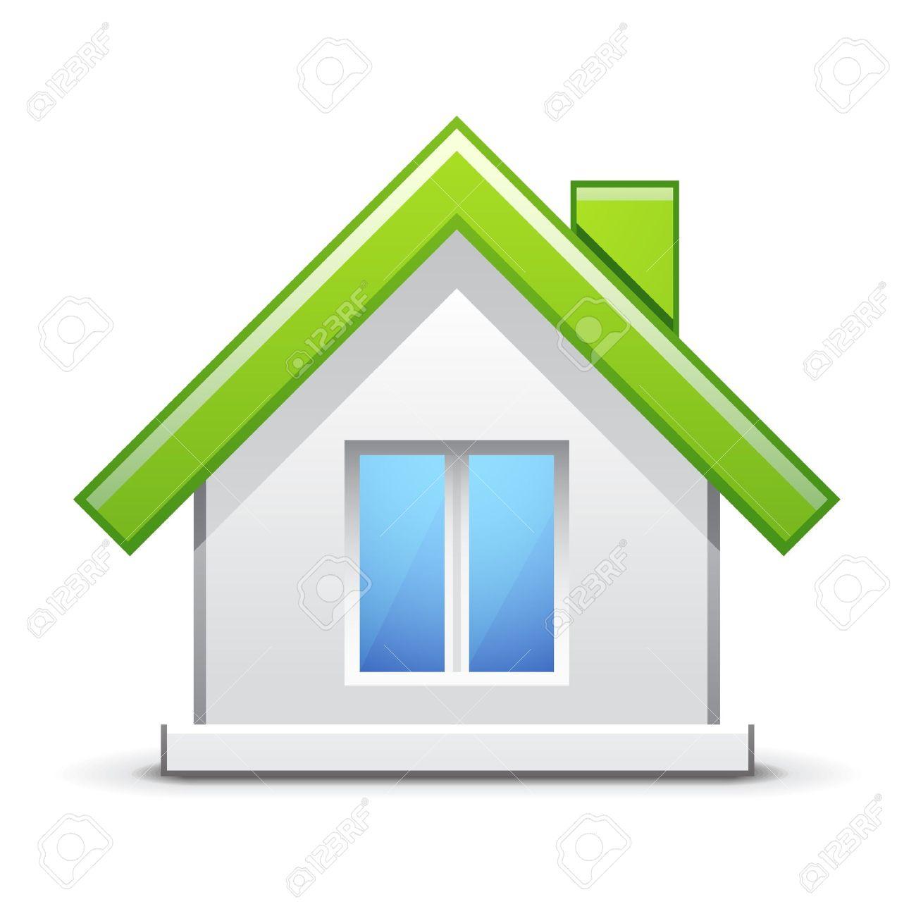 Green house icon Stock Vector - 11660653