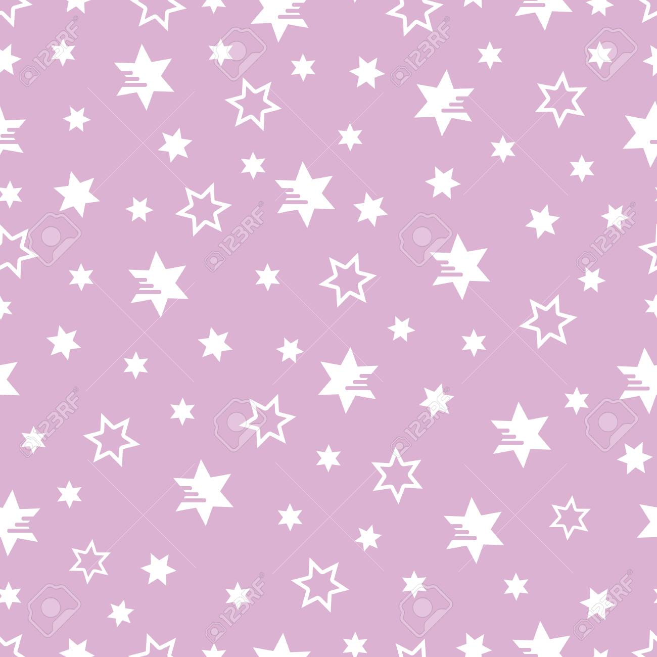 Christmas Fabric 2019.Seamless Pattern With Stars Christmas And New Year 2019 Background