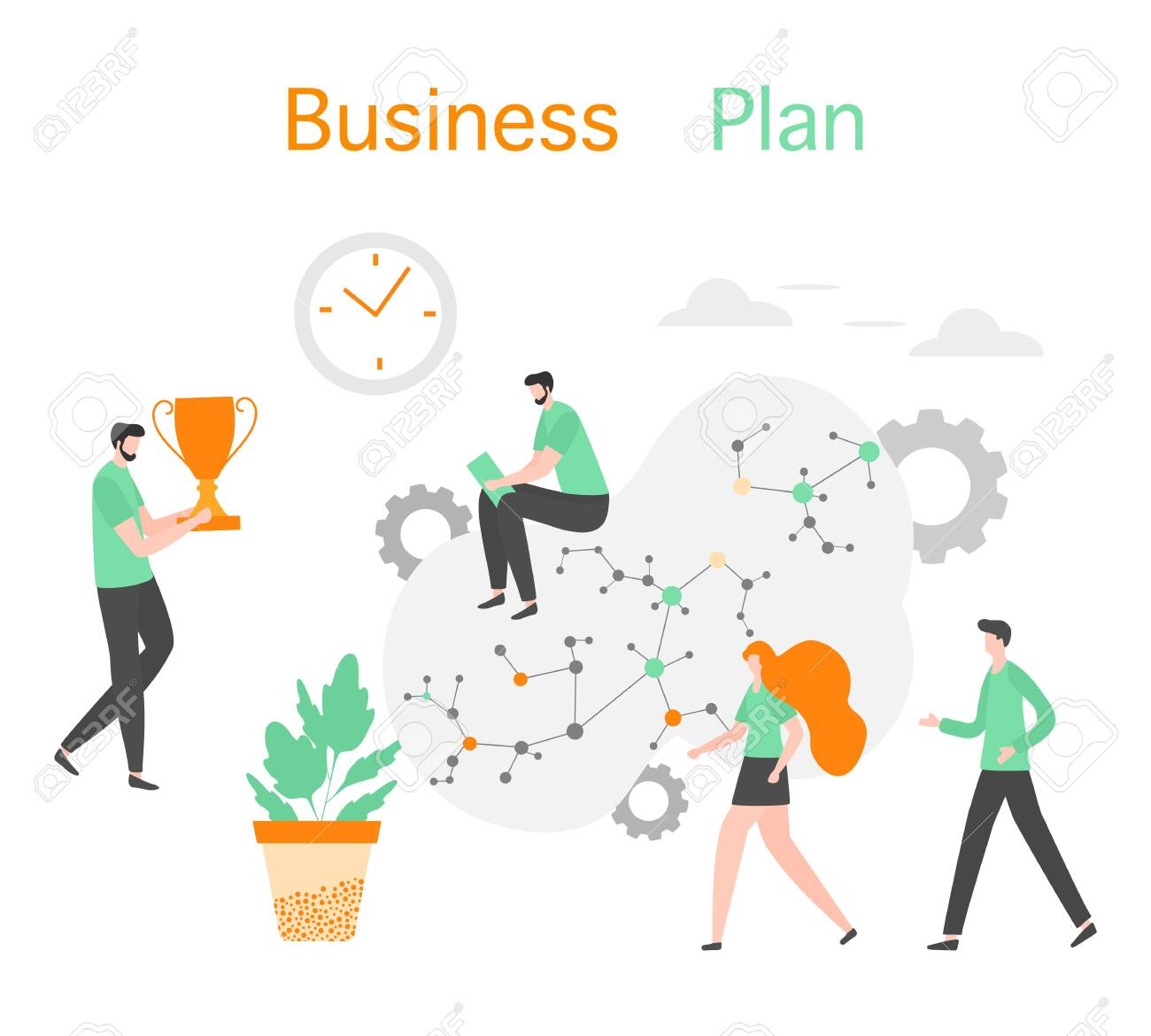 vector illustration profit growth planning, financial increase,.. royalty  free cliparts, vectors, and stock illustration. image 133418970.  123rf