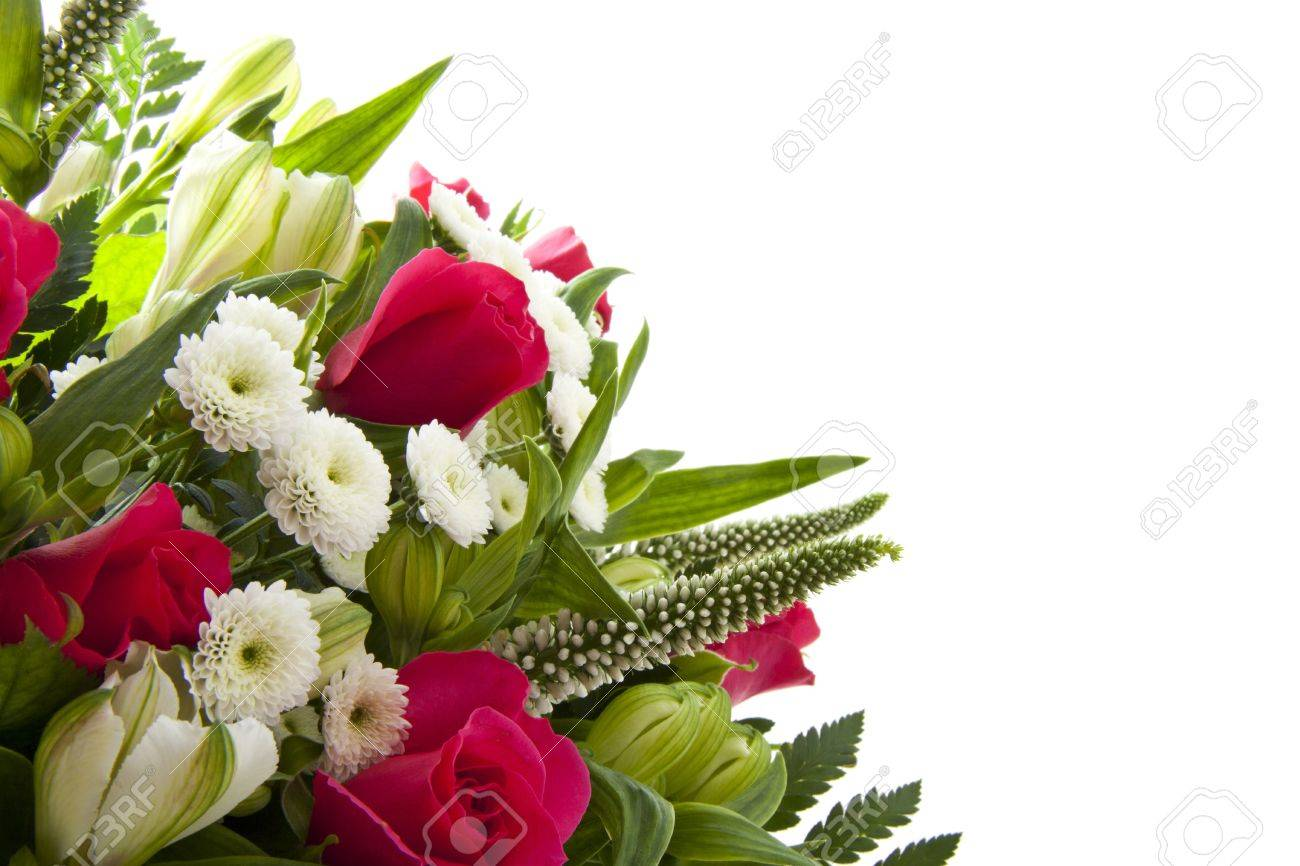 colorful bouquet with pink roses for background use Stock Photo - 12173545
