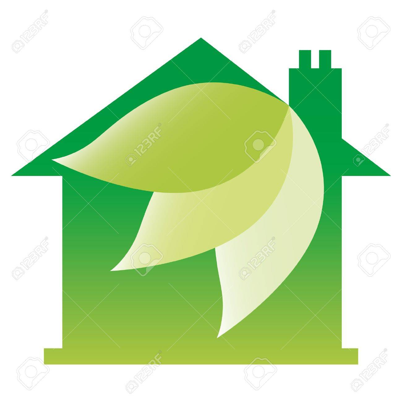 eco friendly house design royalty free cliparts vectors and eco friendly house design stock vector 9683479