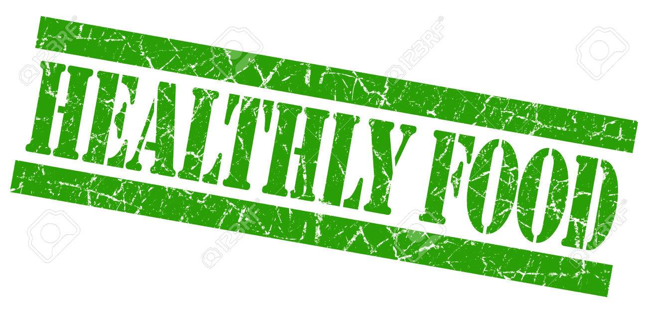 healthly food grunge green stamp stock photo picture and royalty