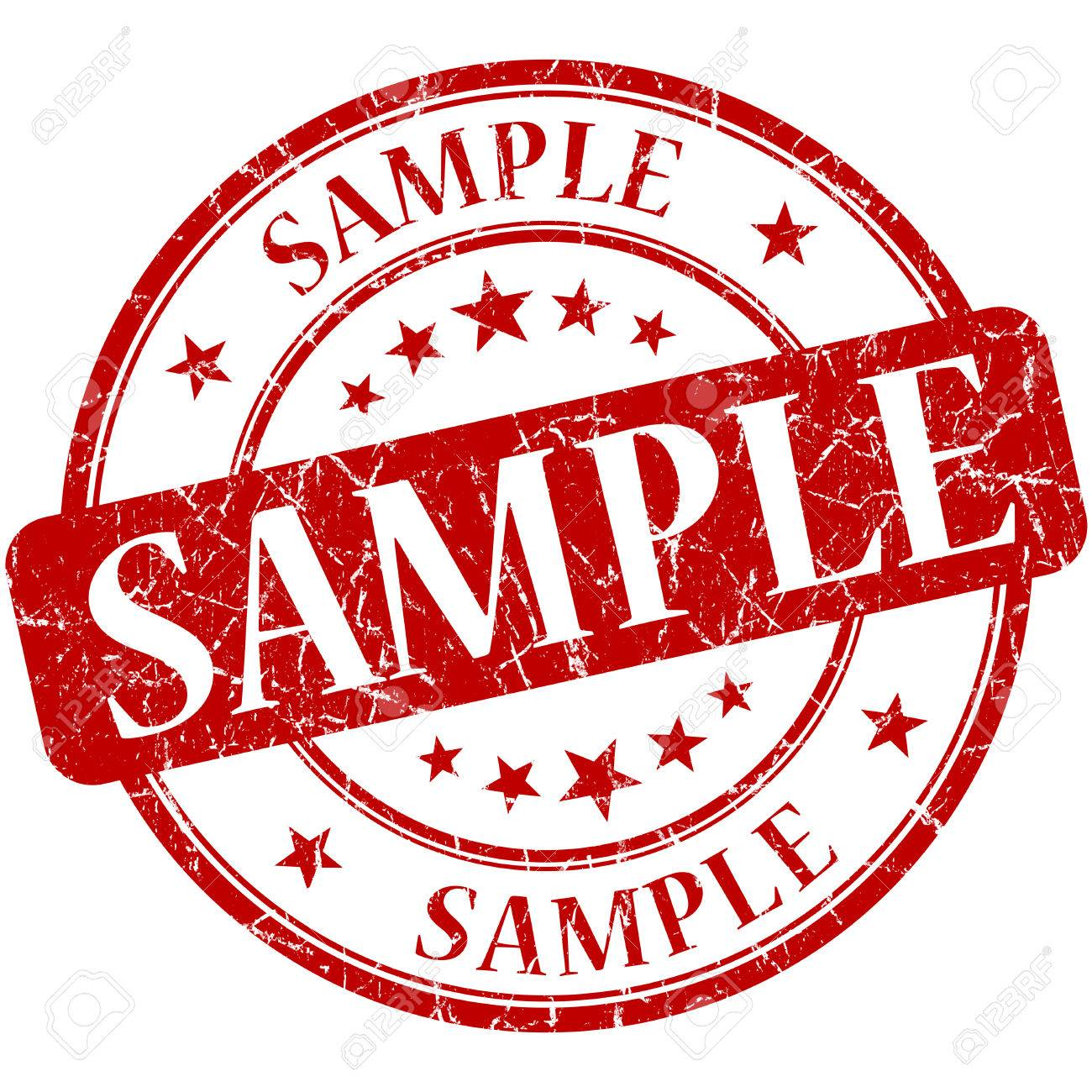 sample grunge red round stamp stock photo picture and royalty free