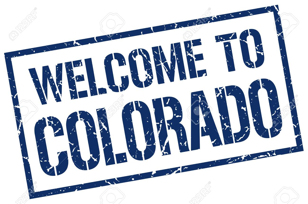 Welcome To Colorado Stamp Royalty Free Cliparts Vectors And Stock