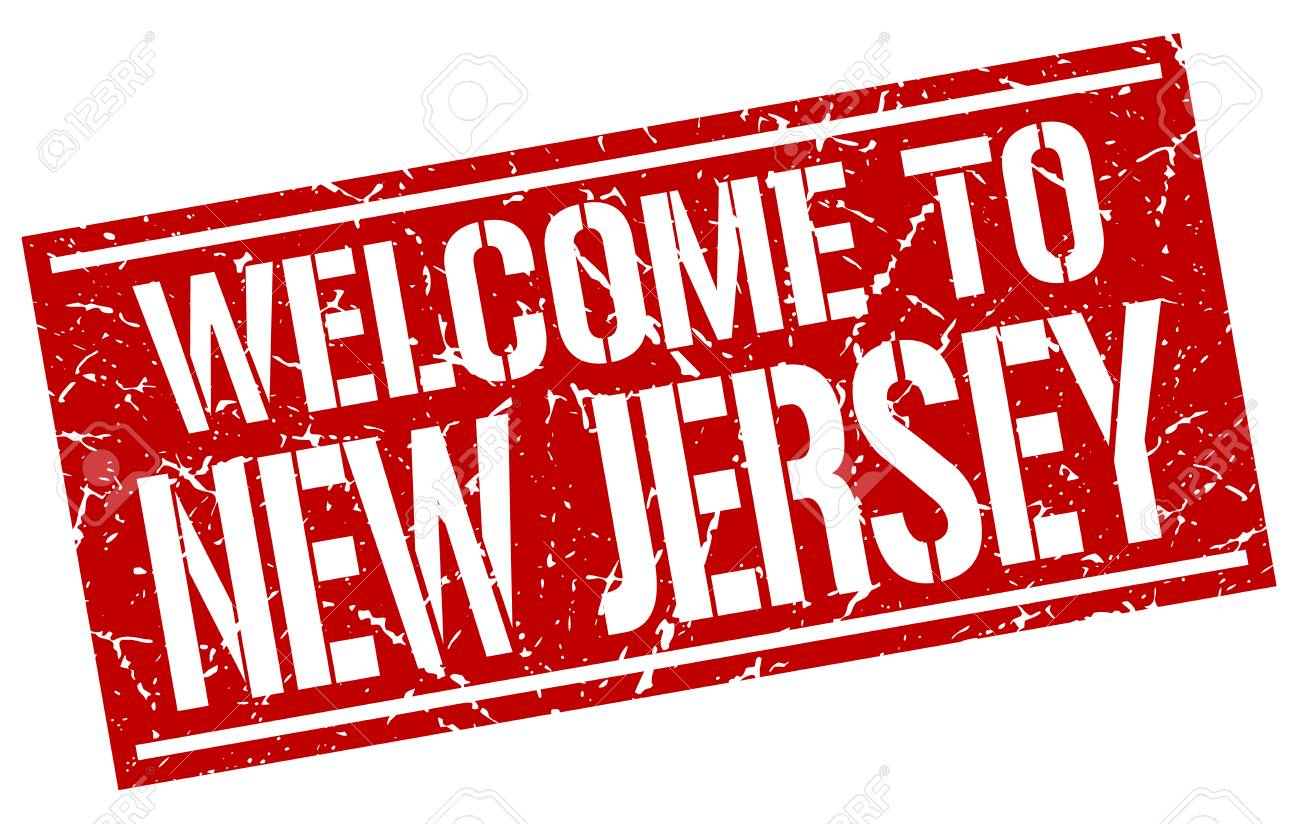 Welcome To New Jersey Stamp Royalty Free Cliparts Vectors And
