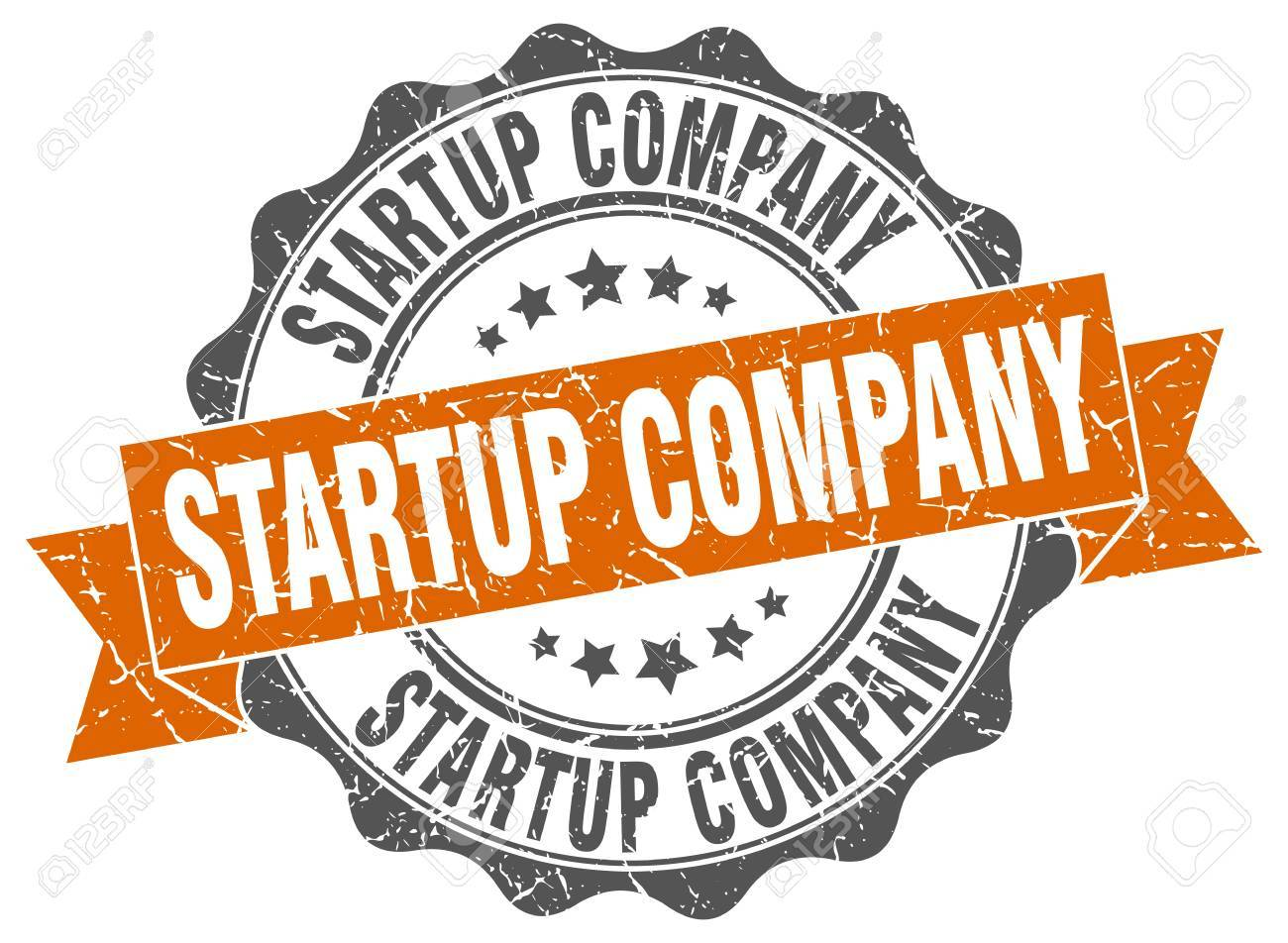 startup company stamp  sign  seal