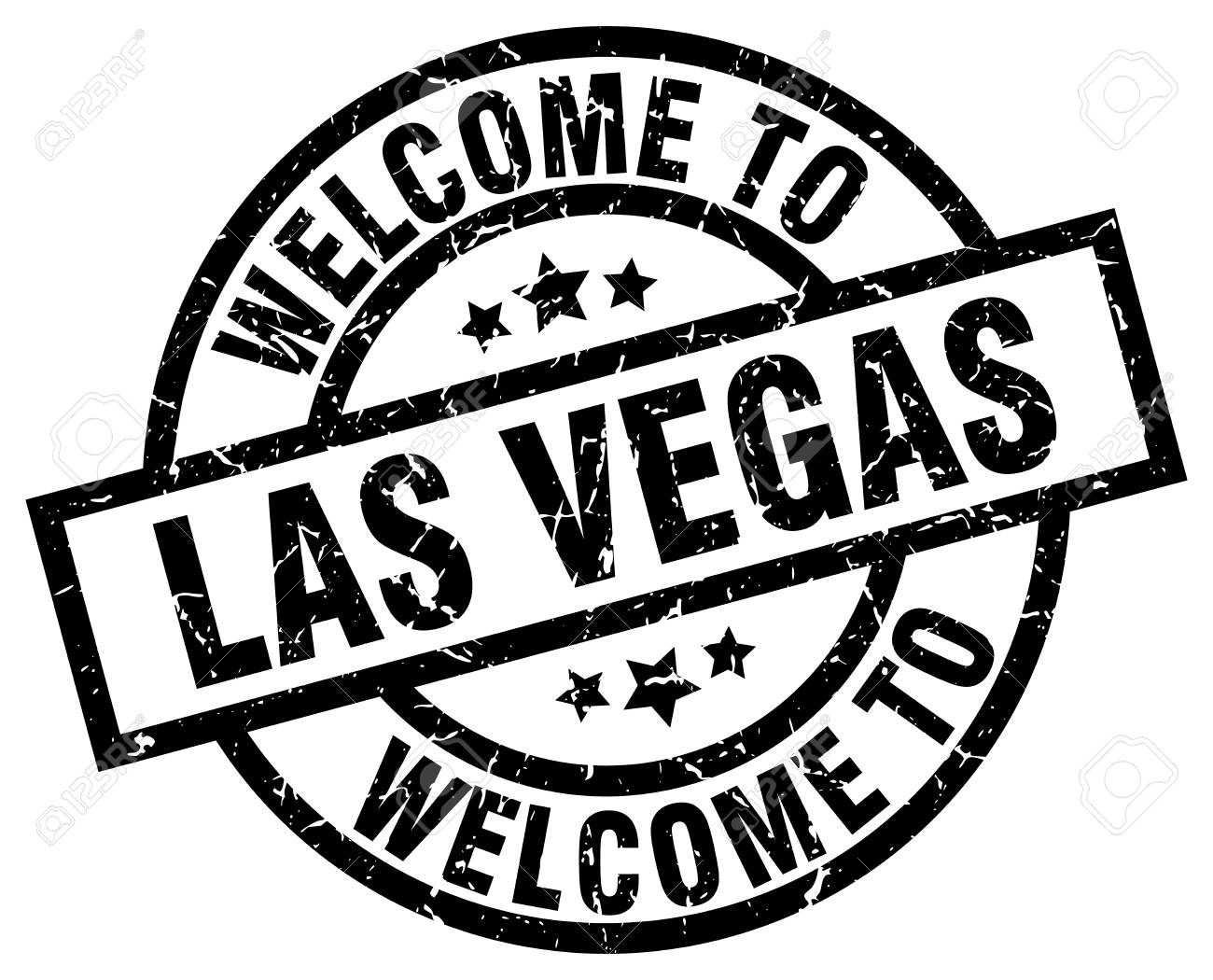 Welcome To Las Vegas Black Stamp Royalty Free Cliparts Vectors And