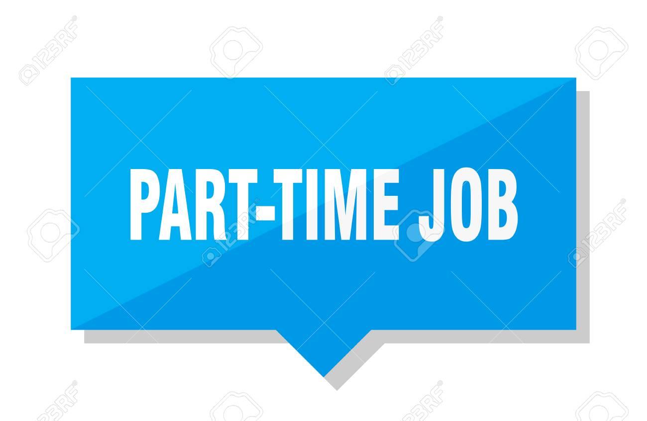 part-time job blue square price tag