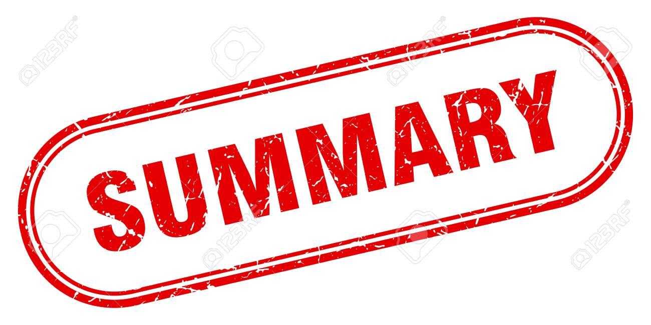 summary stamp. summary square grunge sign. summary - 126121932
