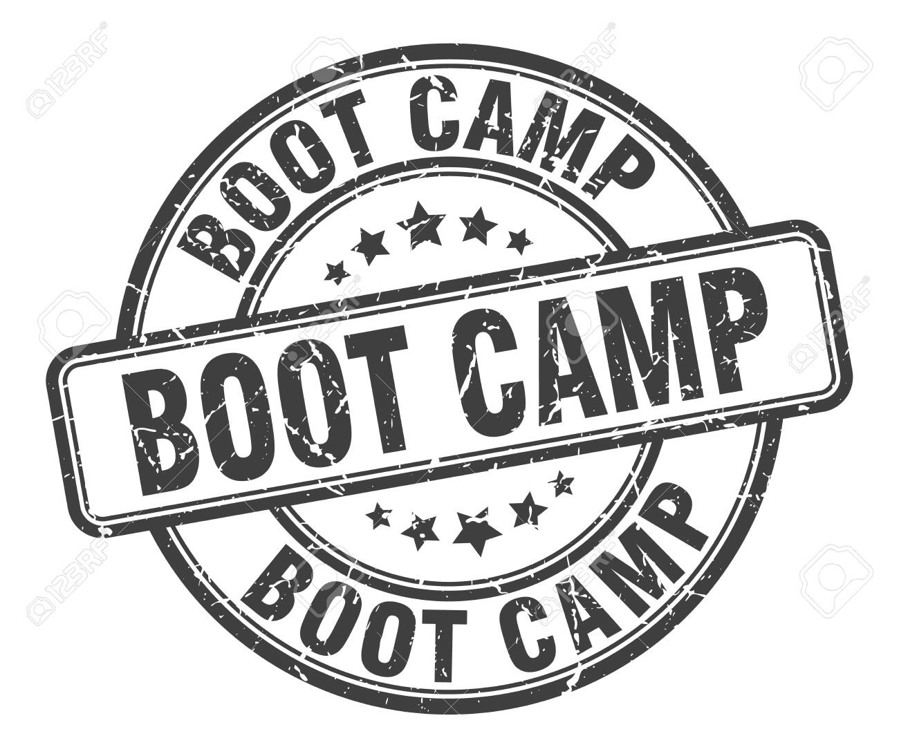 boot camp stamp. boot camp round grunge sign. boot camp - 126804753