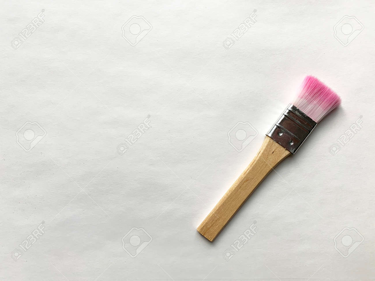 Art brush on white background. - 169603118