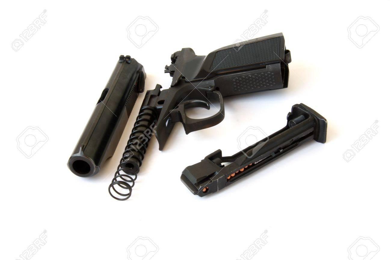 Black gun Stock Photo - 3425611