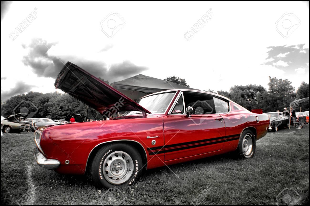 1968 Plymouth Barracuda Formula S Stock Photo