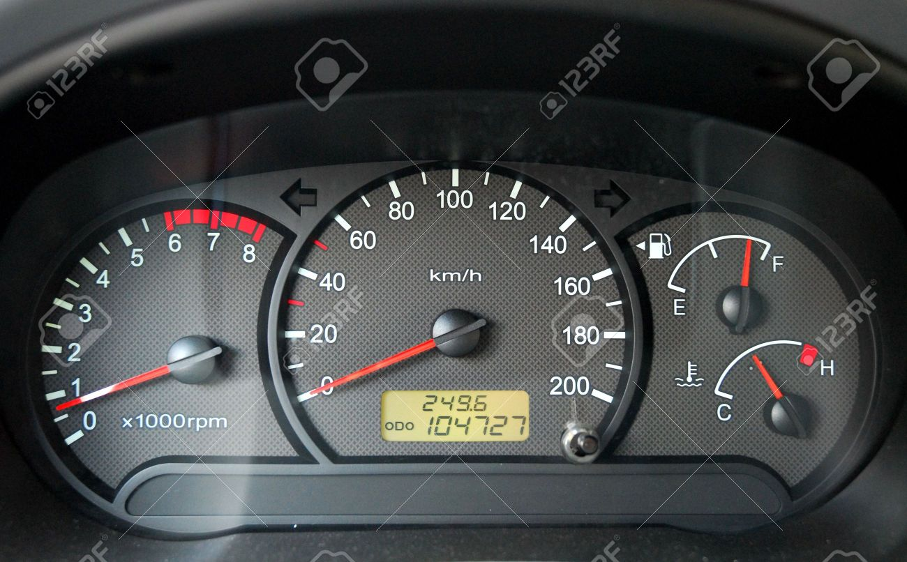 Full Car Instruments Panel Stock Photo Picture And Royalty Free Image Image 3232516