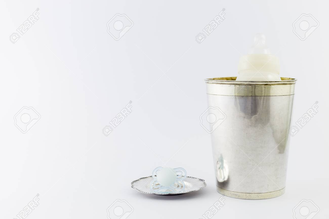 77d714b34cd3 Baby Boy Luxurious Items Collection Isolated On White Background ...