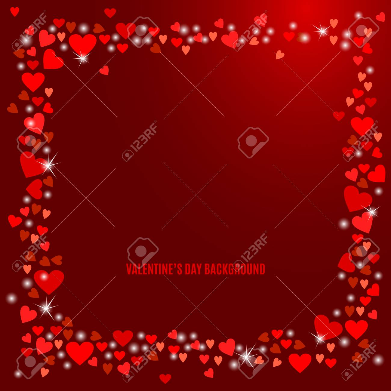Abstract love background for your valentines day greeting card abstract love background for your valentines day greeting card design red hearts frame isolated on kristyandbryce Choice Image