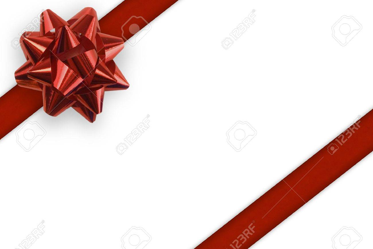 Gift ribbon and bow on a white background gift ribbon and bow on a white background 536481 negle Choice Image