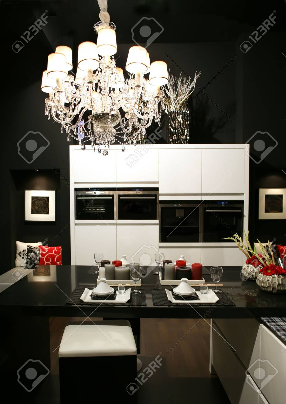 decoration in east style on modern kitchen Stock Photo - 3754697