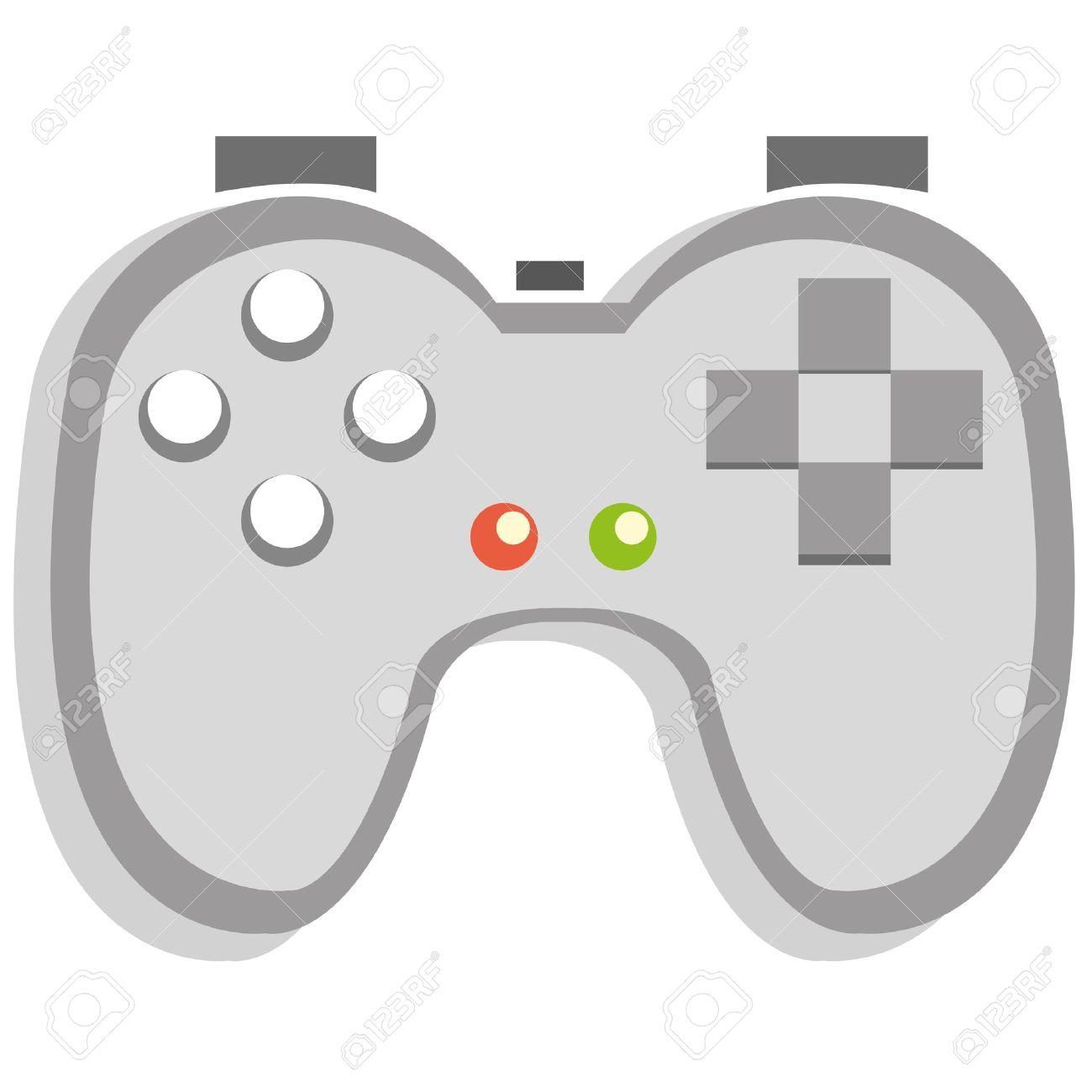 A cartoon videogame control icon - 20613971