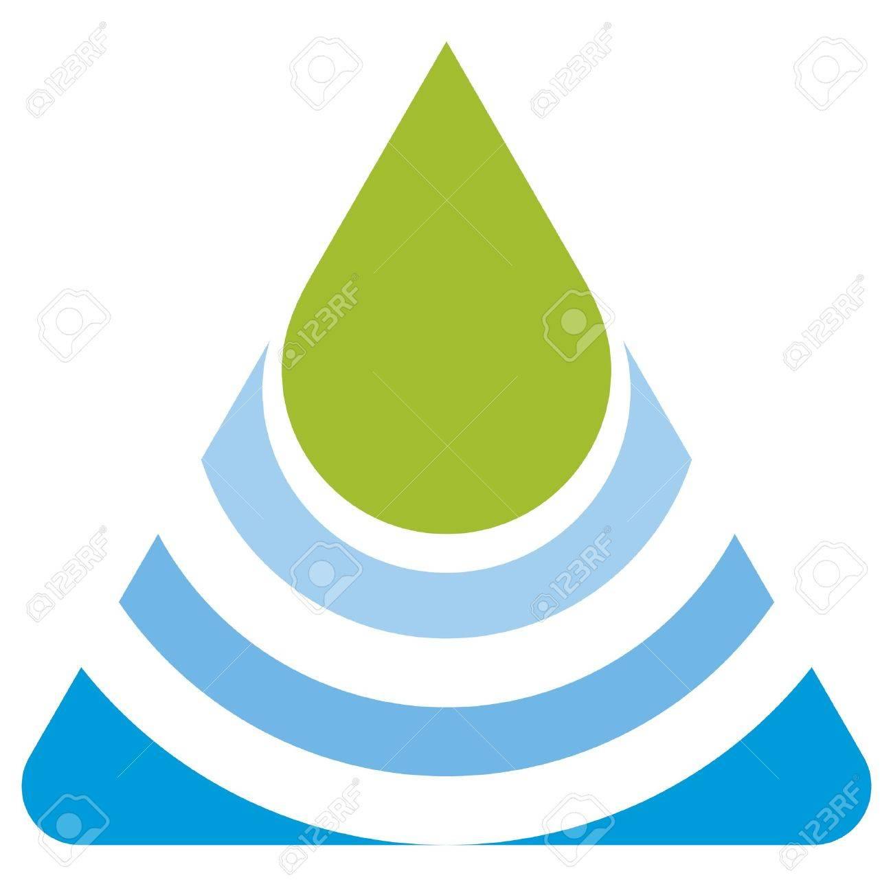 Verdes Logo Logo Eco Foglia Verde e