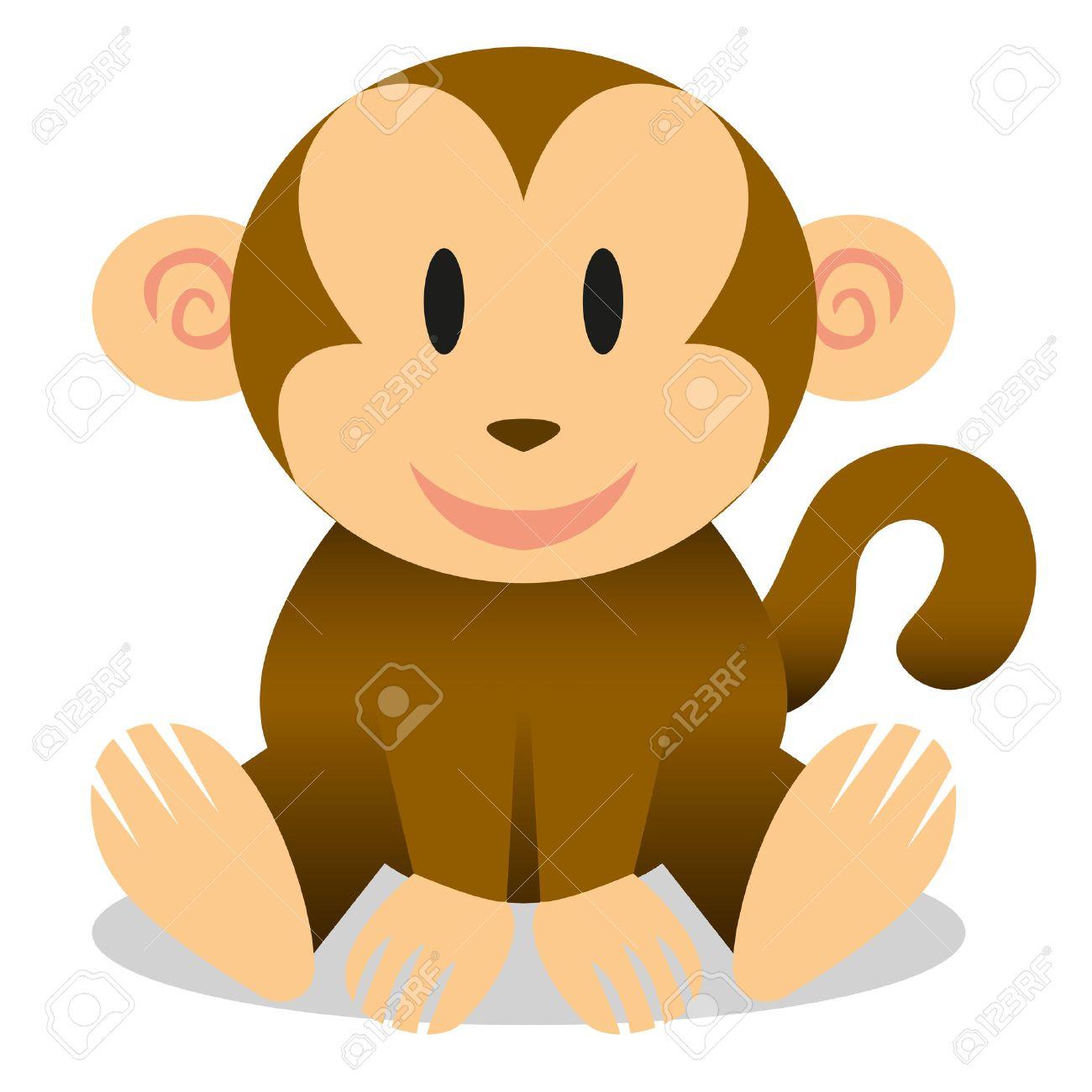 Cartoon baby monkey pictures