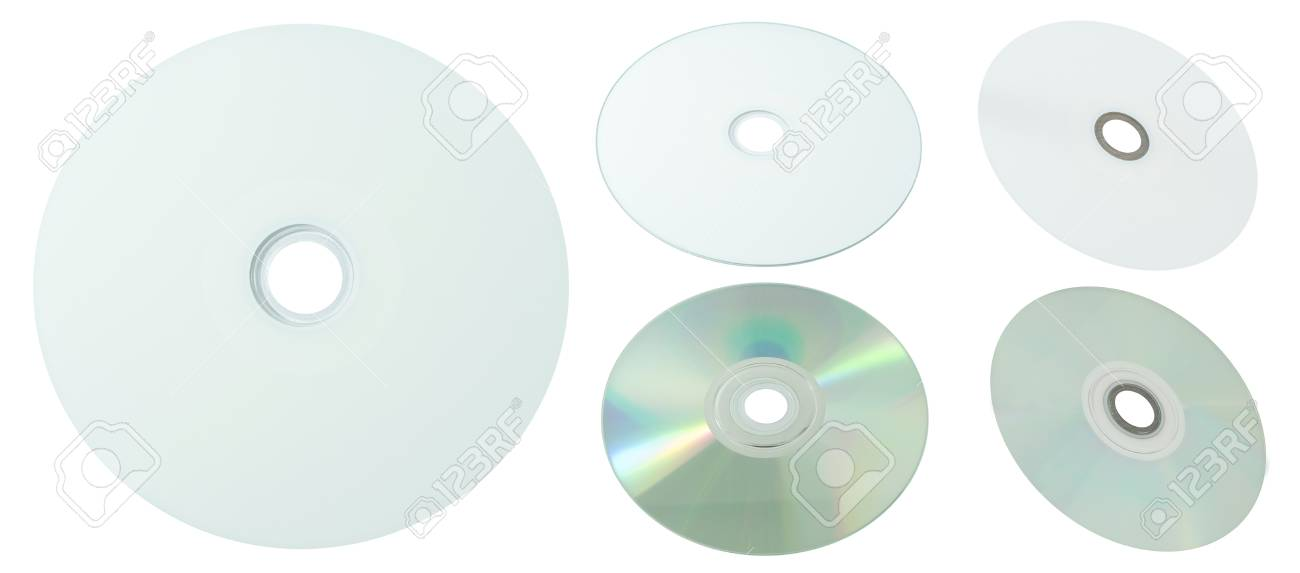 photo regarding Printable Dvd Disc known as White Printable Appear CD and DVD Modest Disc Isolated upon White..