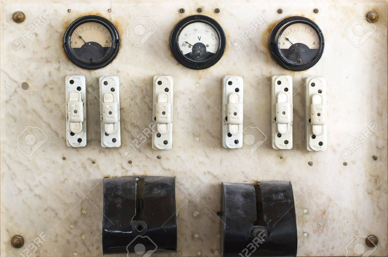 21767043 vintage fuse box and switch Stock Photo vintage fuse box and switch stock photo, picture and royalty free vintage fuse box at bayanpartner.co