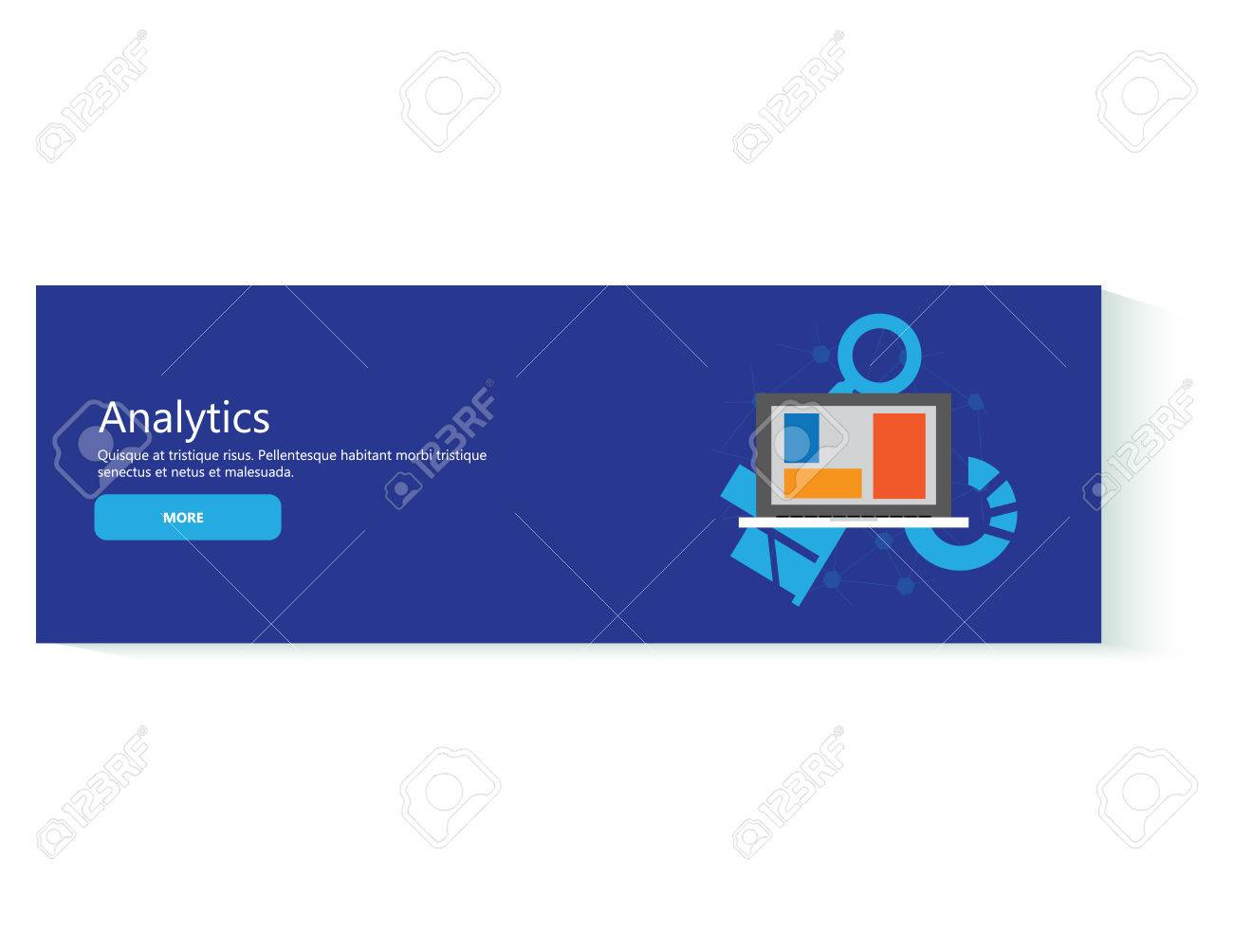 Business Analytic Banners Ocean Banners
