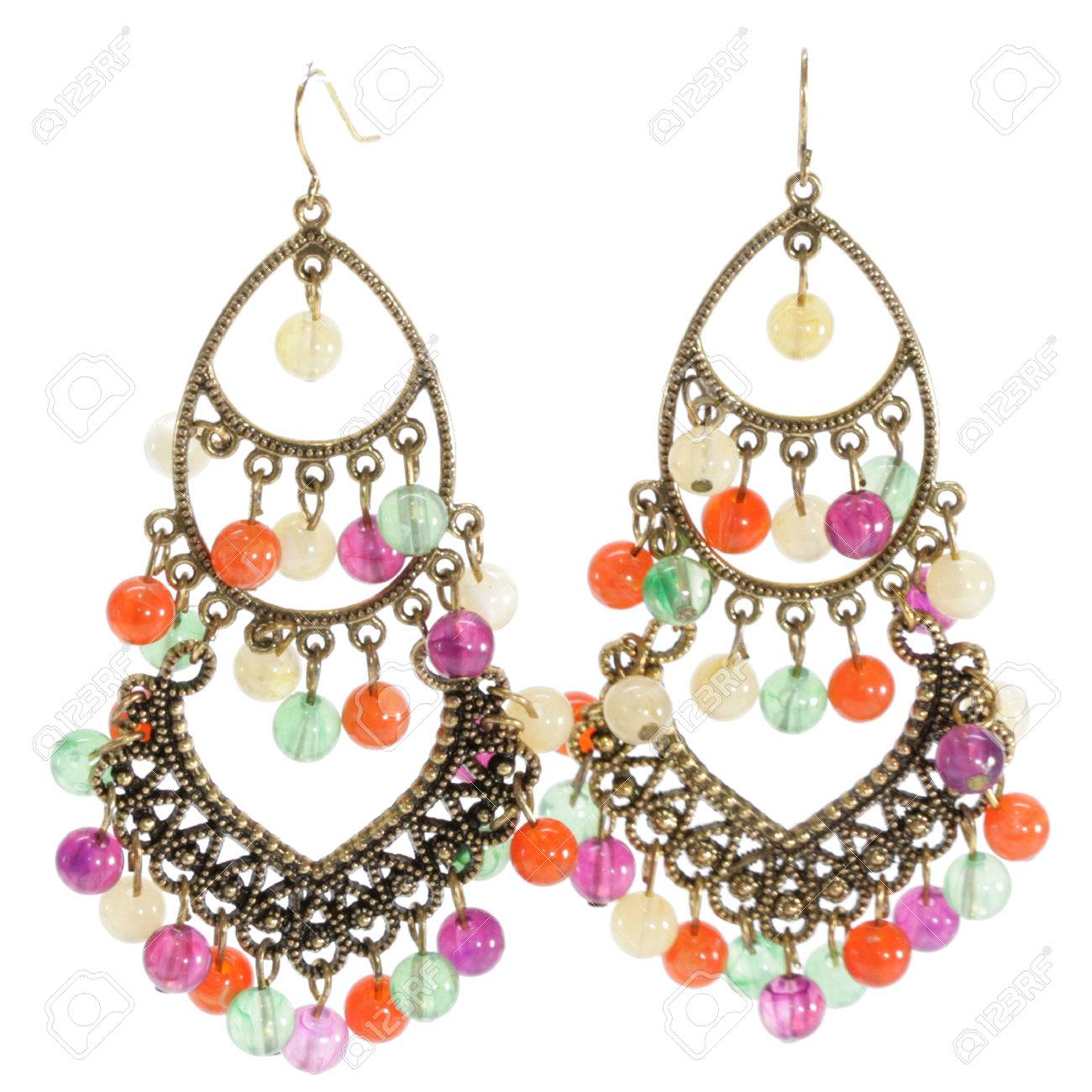 using to home how colourful watch earrings make at designer thread silk