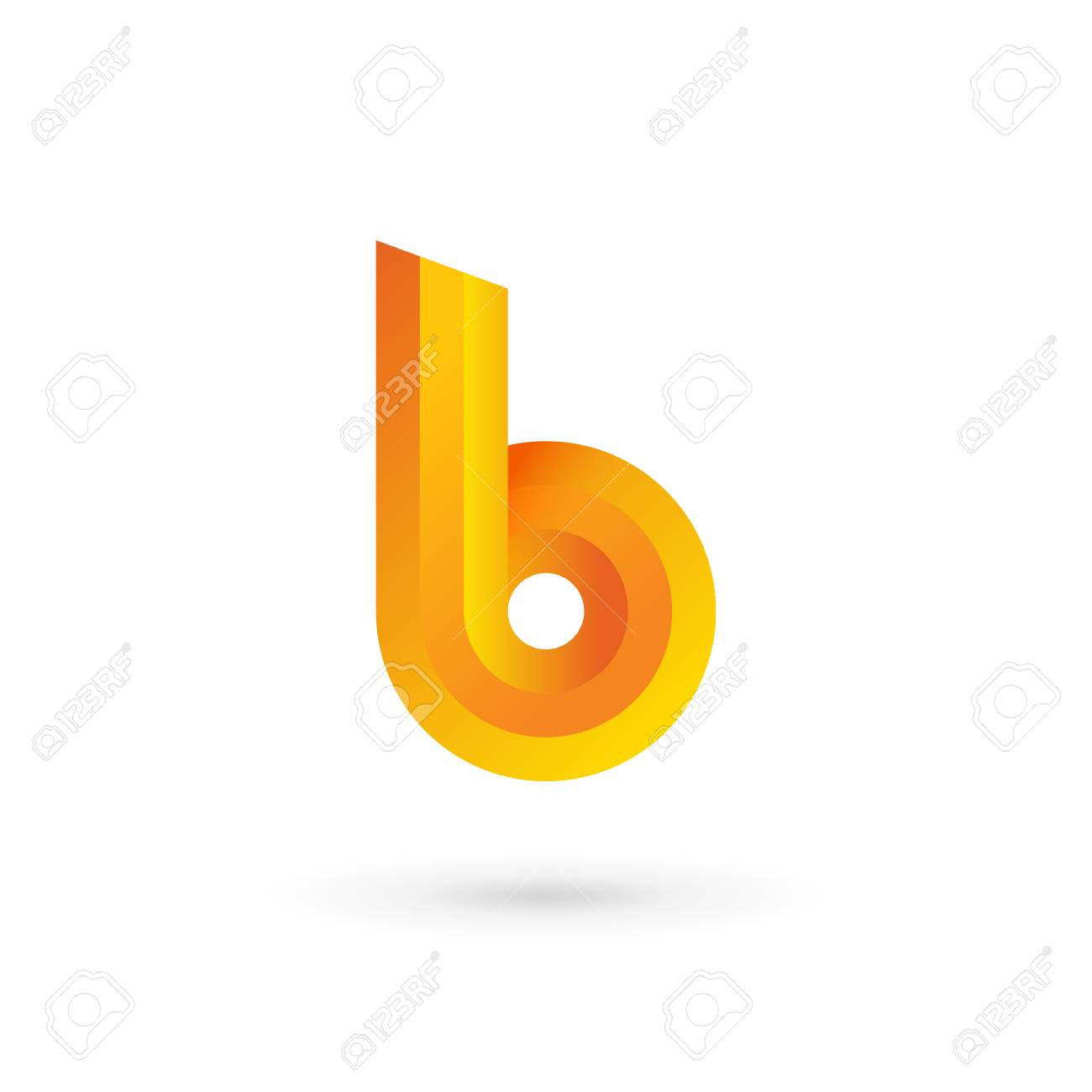 Letter b logo icon design template elements vector color sign letter b logo icon design template elements vector color sign stock vector 32592498 pronofoot35fo Image collections