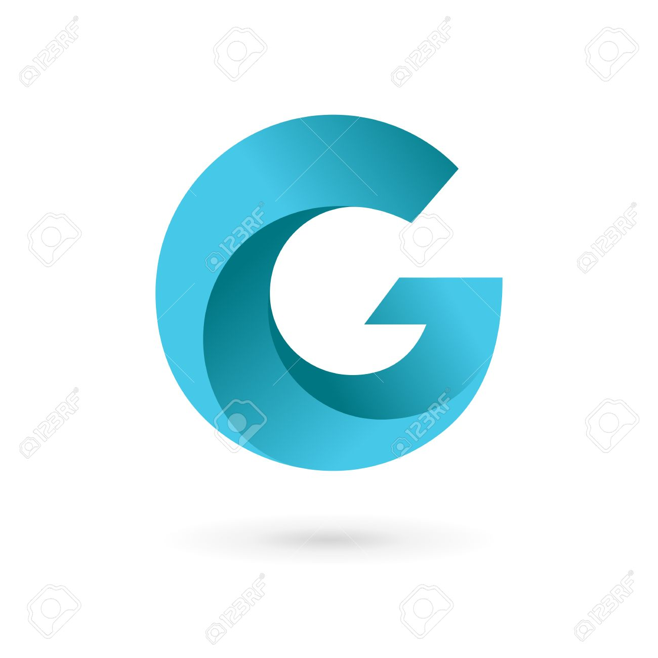 letter g logo icon design template elements vector color sign
