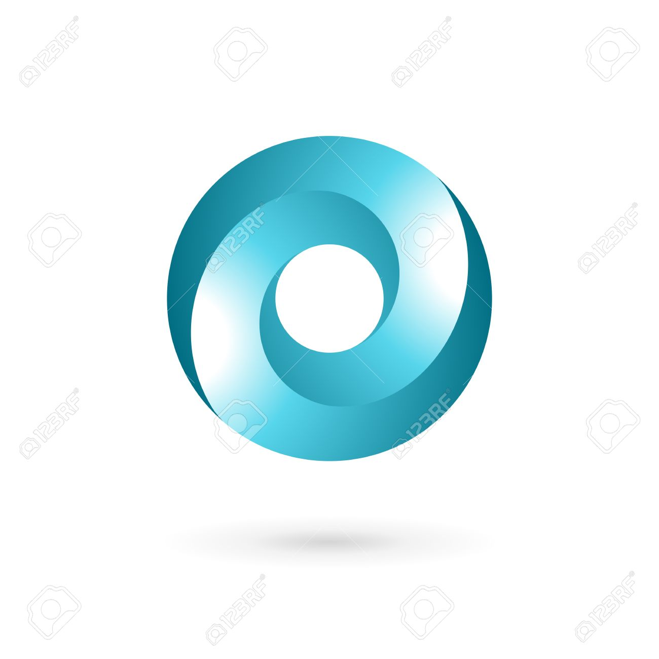 Letter O Template   Letter O Icon Design Template Elements