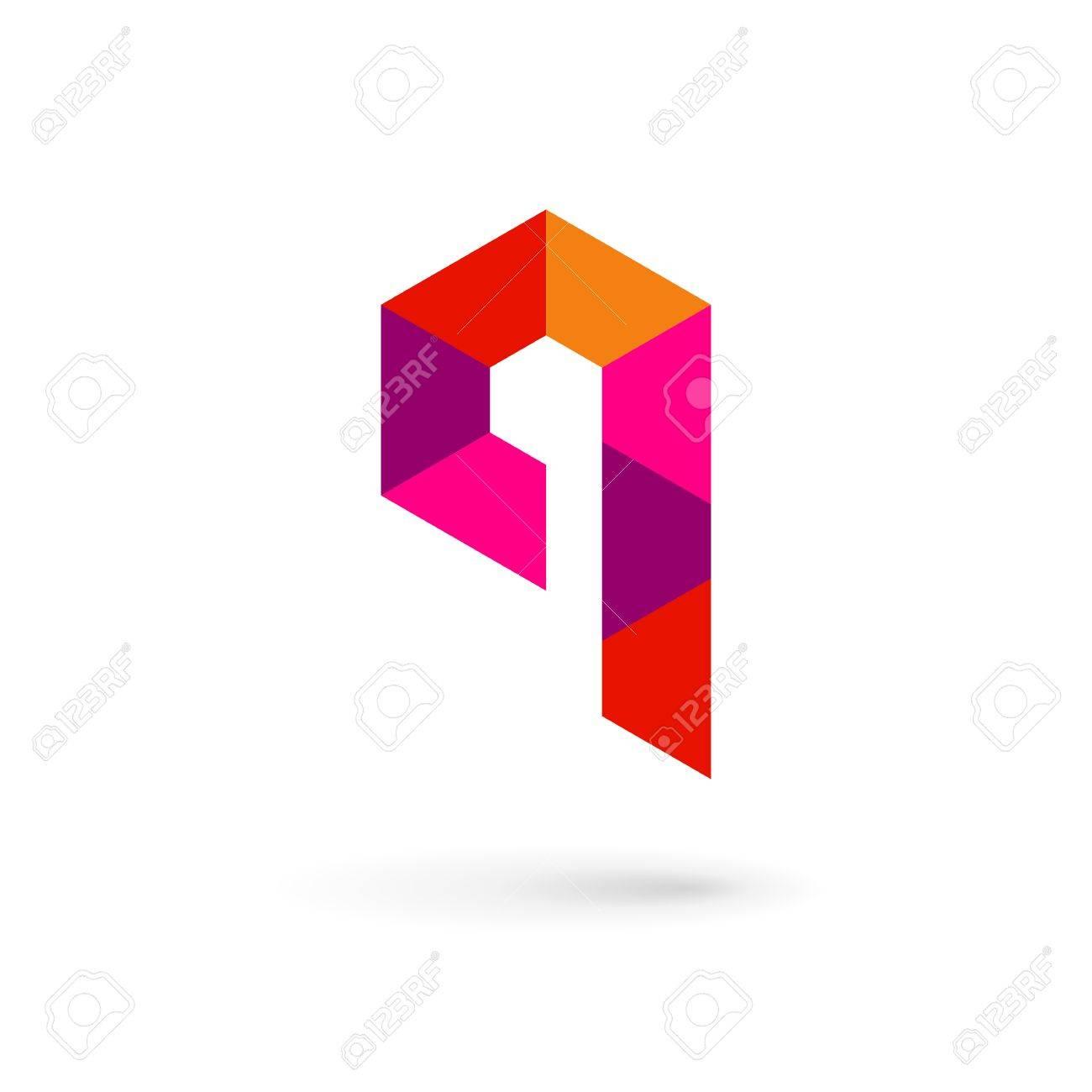 Letra Q Mosaico Logo Icono Elementos De Plantilla De Diseño ...