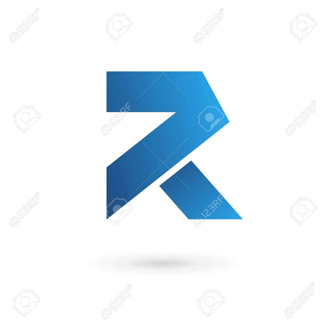 letter r logo icon design template elements royalty free cliparts