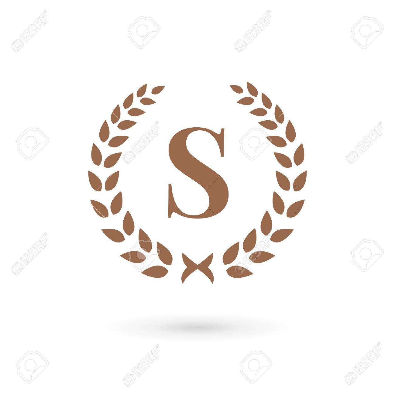 Letter s laurel wreath logo icon design template elements royalty letter s laurel wreath logo icon design template elements stock vector 33317499 altavistaventures Image collections