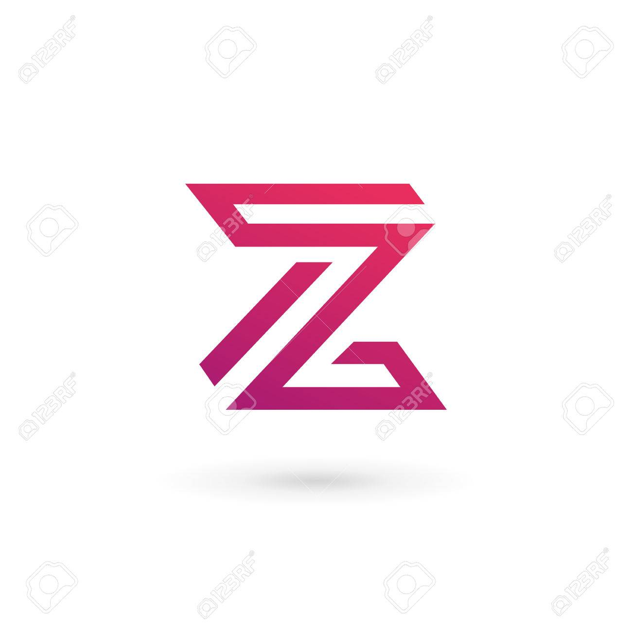 Delightful Letter Z Logo Icon Design Template Elements Stock Vector   35131140