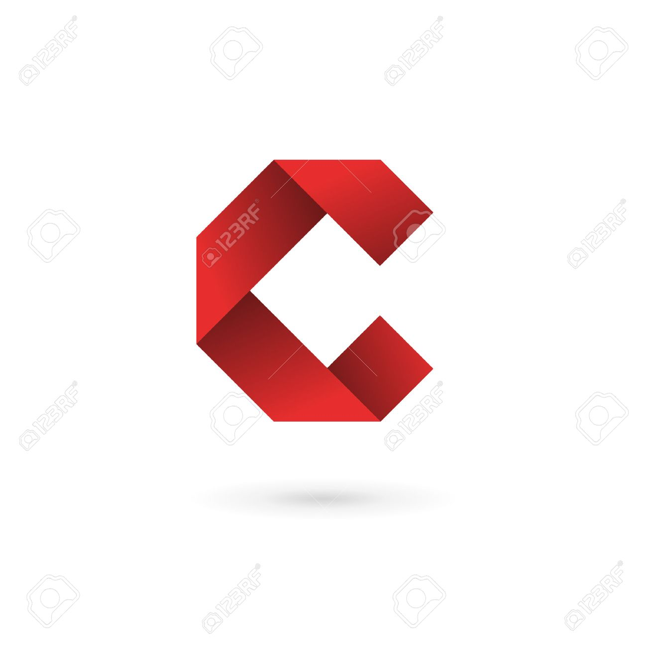 Letter C Logo Icon Design Template Elements Royalty Free Cliparts ...