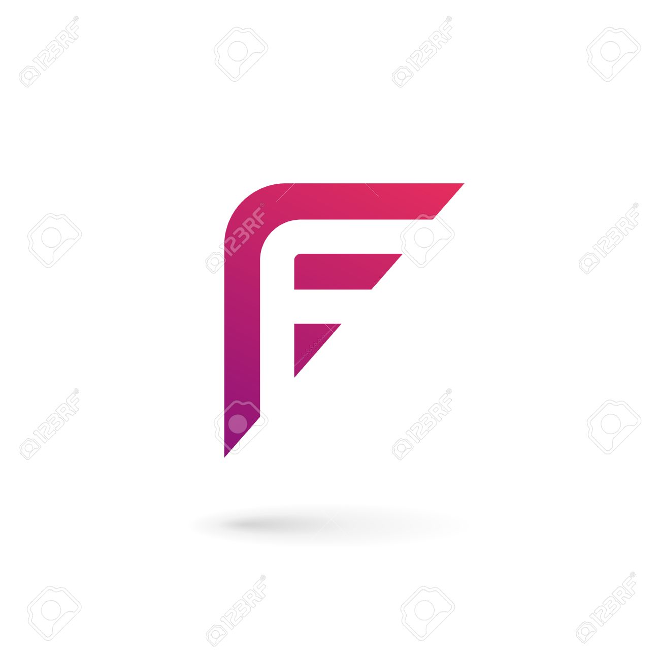 Letter f icon design template elements royalty free cliparts letter f icon design template elements stock vector 36630562 maxwellsz