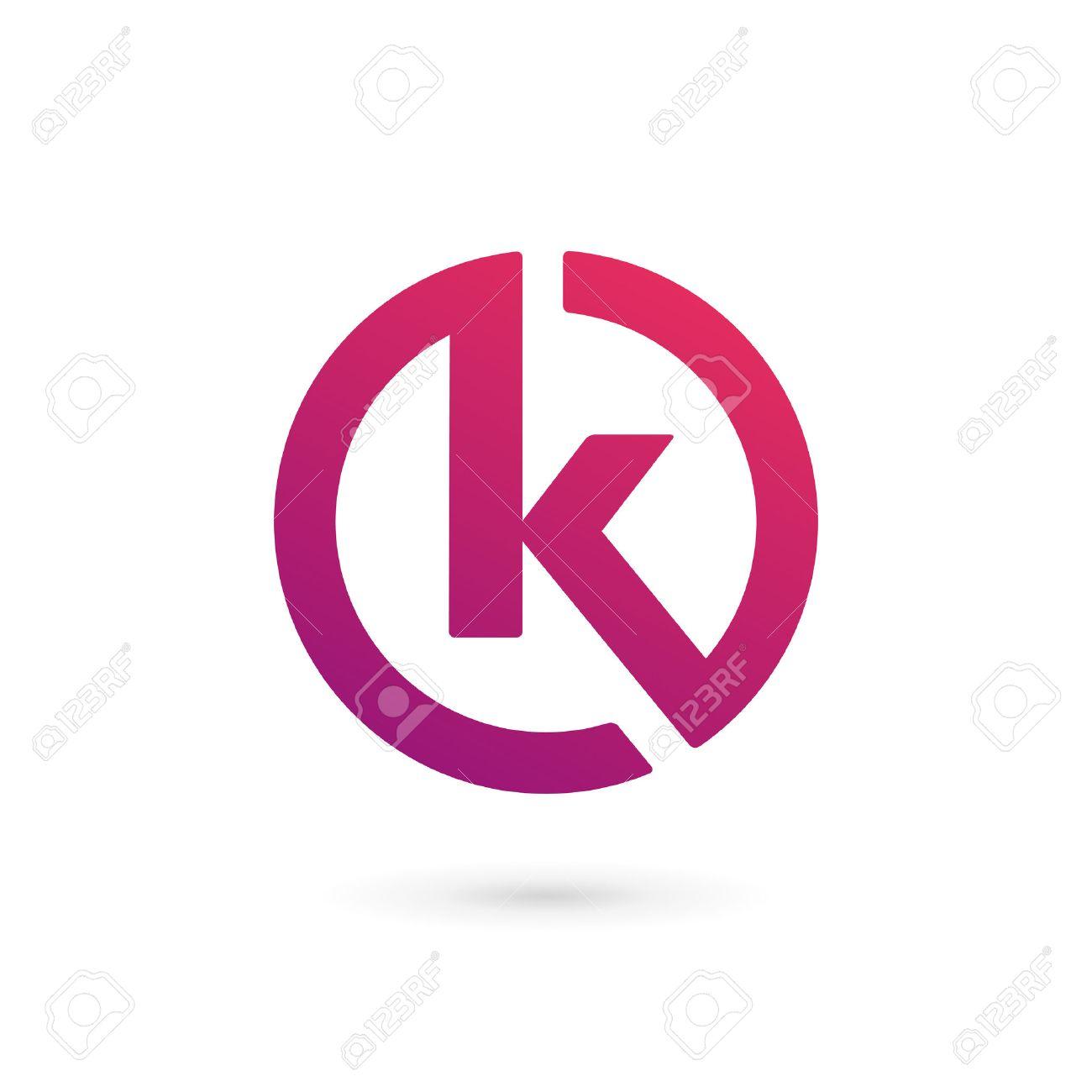 letter k logo icon design template elements stock vector 37966936