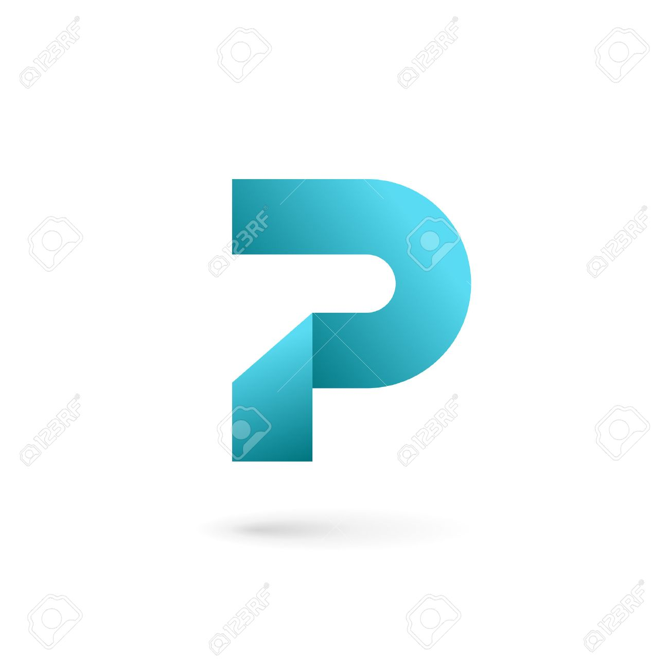 Letter P Logo Icon Design Template Elements Royalty Free Cliparts ...