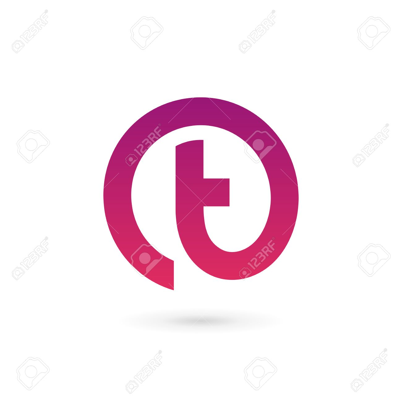 letter t logo icon design template elements stock vector 41985605
