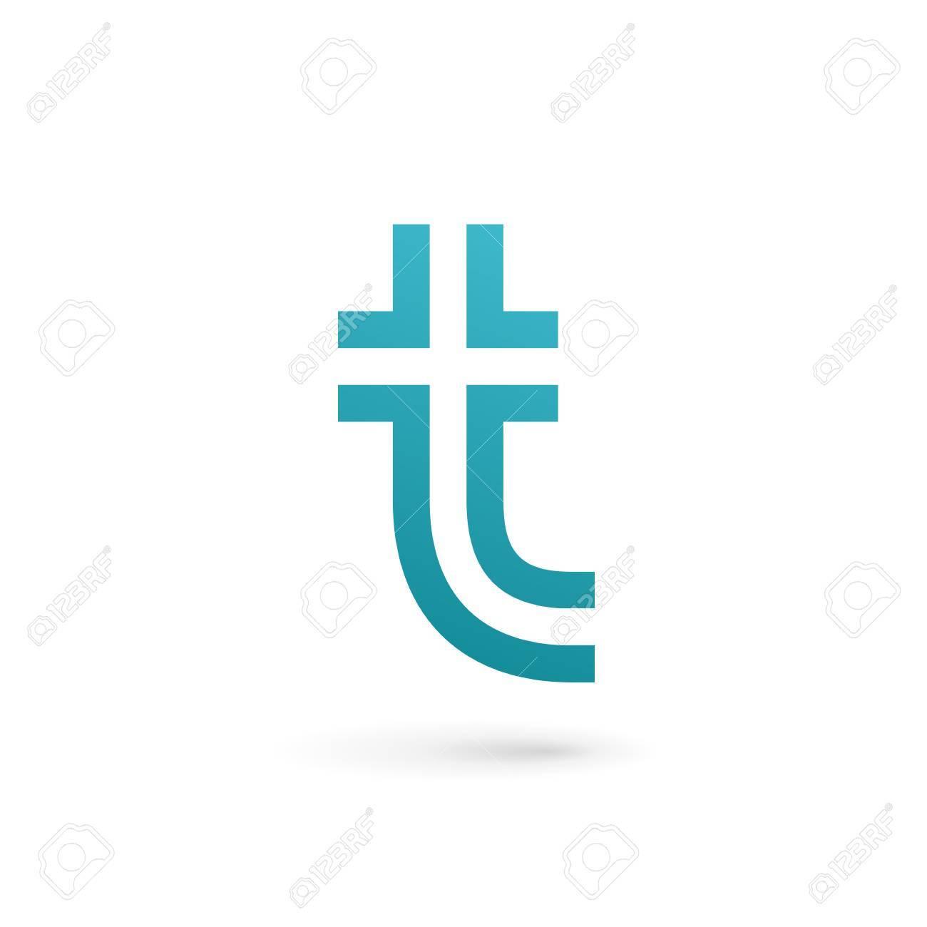 Letra T Logo Icono Elementos De Plantilla De Diseño Ilustraciones ...