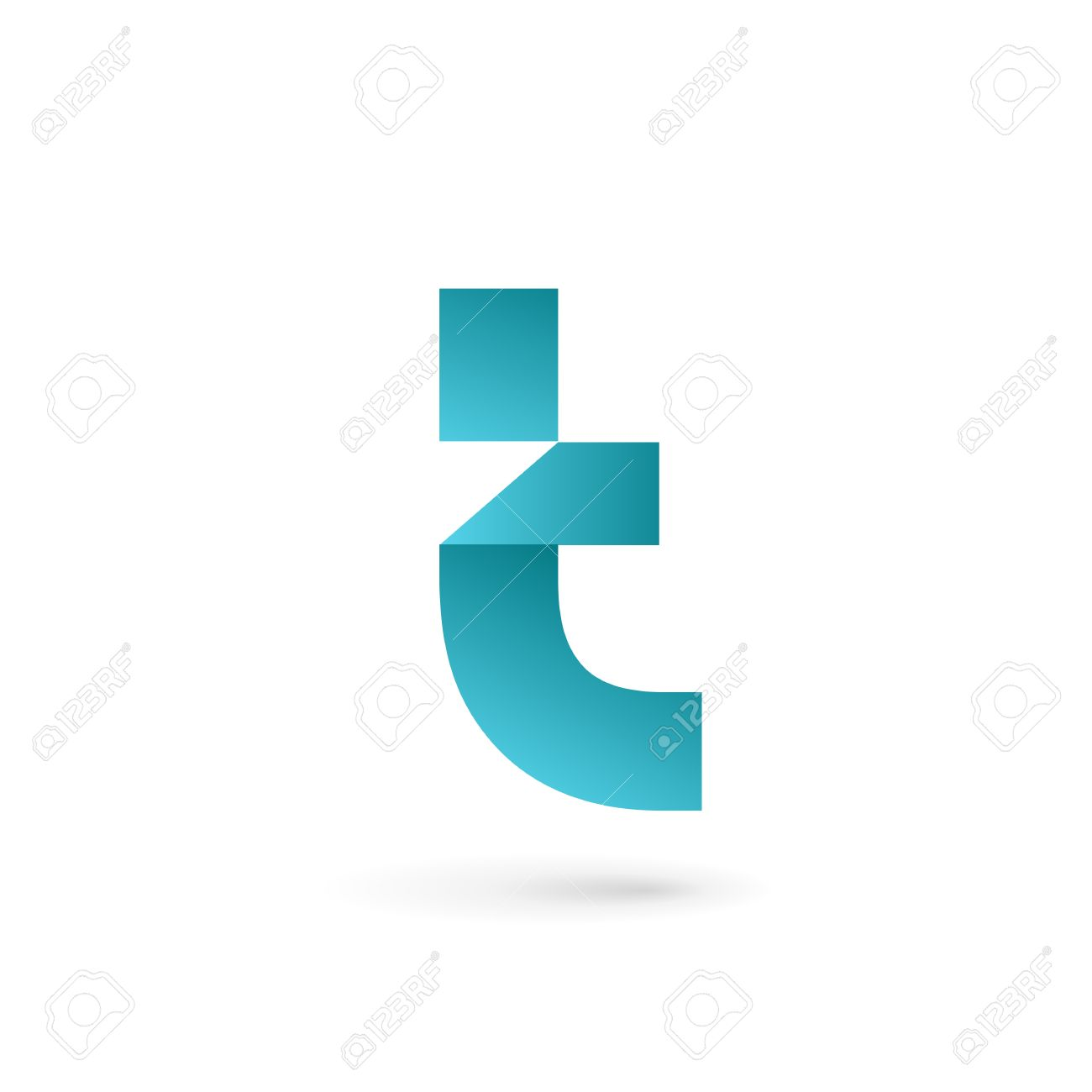 letter t logo icon design template elements stock vector 41985938