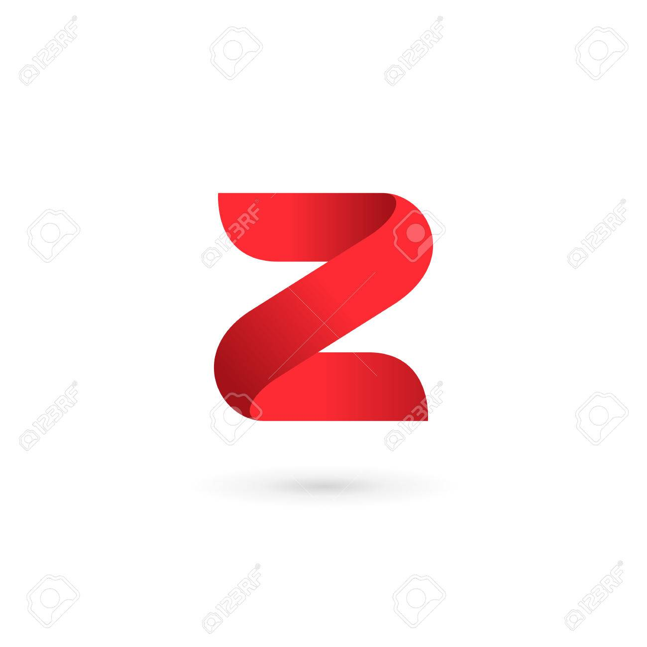 Letter Z Number 2 Logo Icon Design Template Elements Stock Vector   43877188