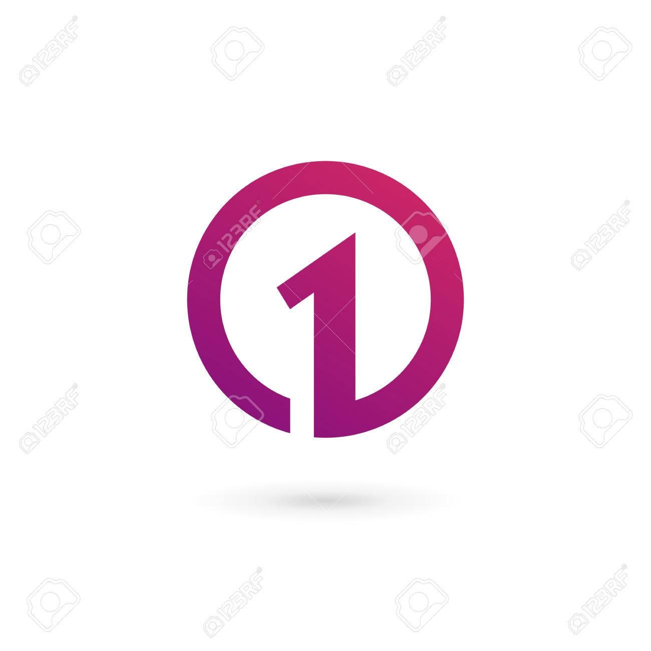 ナンバーワン 1 ロゴのアイコン デザイン テンプレート要素 ロイヤリティ