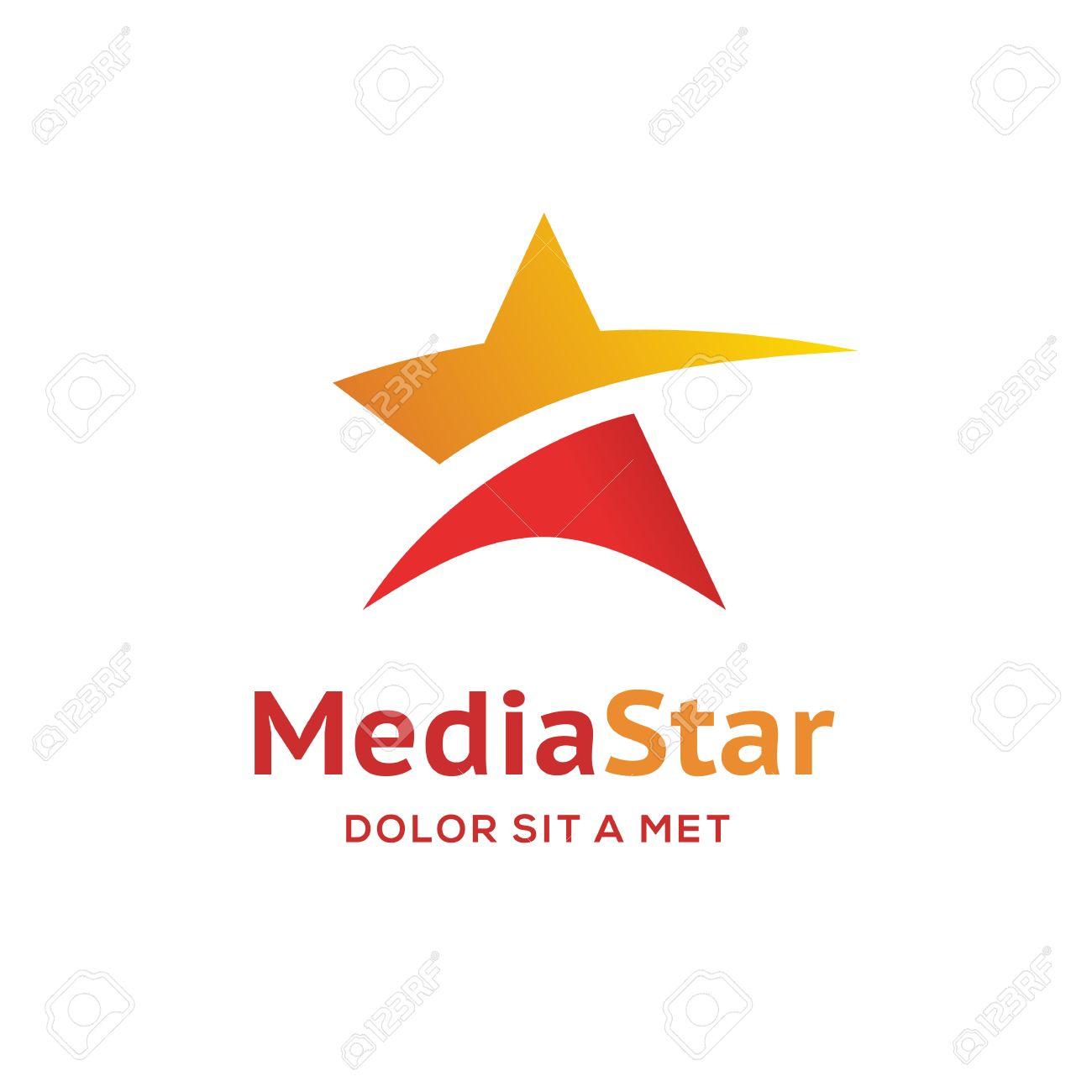 Logo Estrella Elementos Abstractos Plantilla Icono Del Diseño ...