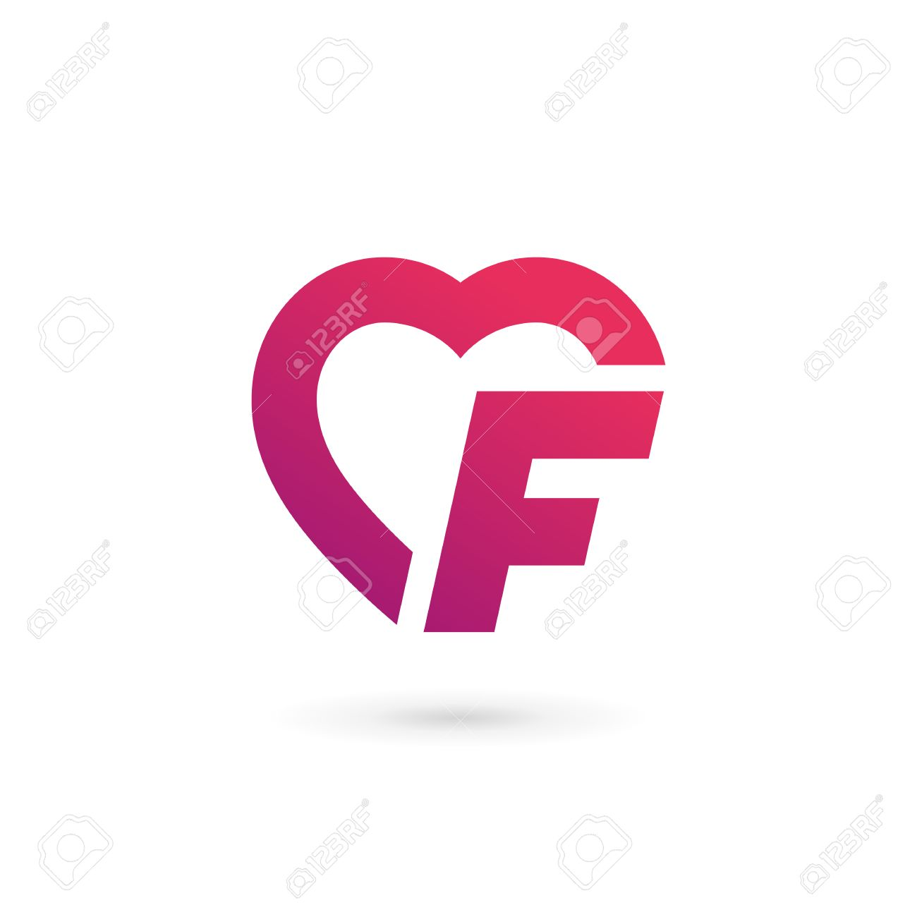 Letter f heart logo icon design template elements royalty free letter f heart logo icon design template elements stock vector 59648242 thecheapjerseys Image collections