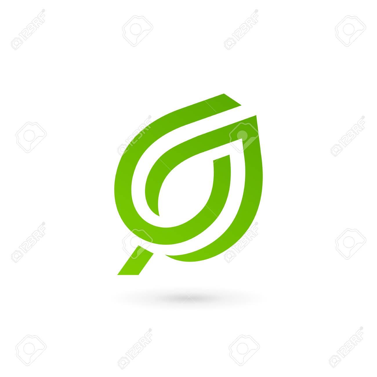 Eco Deja Elementos De Plantilla De Diseño De Icono De Logotipo ...